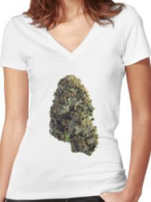 GDP Women's Fitted V-Neck T-Shirt