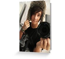 Dan Howell Greeting Card