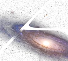 Galactic A Sticker