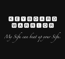 Keyboard Warrior by Rob Bryant