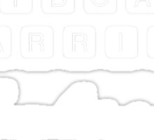 Keyboard Warrior Sticker