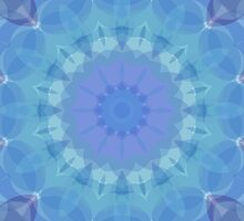 Blue and Turquoise Pattern by Lena127