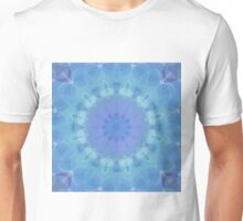 Blue and Turquoise Pattern Unisex T-Shirt