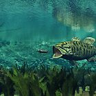 Smallmouth Bass by Walter Colvin