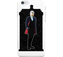 Twelfth Doctor and The TARDIS iPhone Case/Skin
