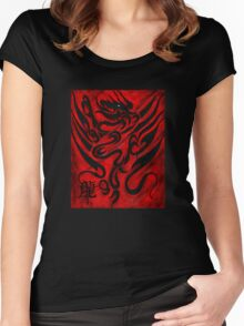 The Dragon Women's Fitted Scoop T-Shirt