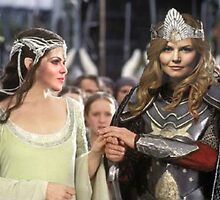 Swan Queen Lord of The Rings by swenfordays