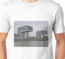 Business and residential buildings, Cologne, Germany Unisex T-Shirt