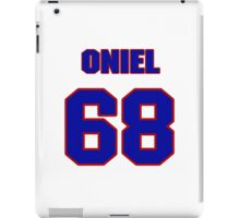 National football player Oniel Cousins jersey 68 iPad Case/Skin