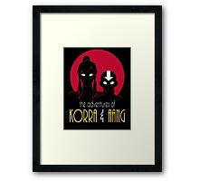 The Adventures of Korra & Aang Framed Print