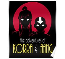 The Adventures of Korra & Aang Poster