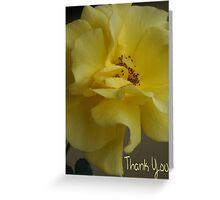Thank You; Lei Hedger Photography La Mirada, CA USA Greeting Card