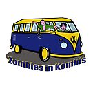 Zombies in Kombies by Anne van Alkemade