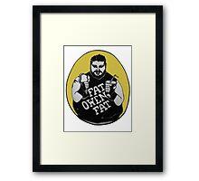 FAT OWENS FAT Framed Print