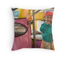 Thai child Throw Pillow
