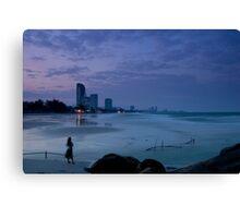 Twilight in Hua Hin Canvas Print