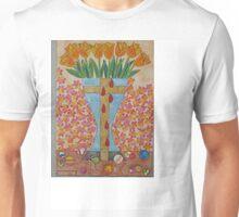 EIGHT BLEEDING TULIPS Unisex T-Shirt
