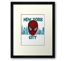 Spidey New York Framed Print