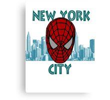 Spidey New York Canvas Print