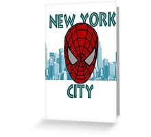 Spidey New York Greeting Card