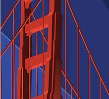 Golden Gate by MagnoliaStern