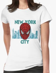 Spidey New York Womens Fitted T-Shirt
