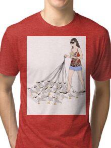 My pet seagulls Tri-blend T-Shirt