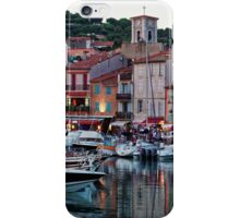 Cassis, French Riviera, in the Summer at Dusk iPhone Case/Skin