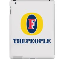 Foster the people. iPad Case/Skin