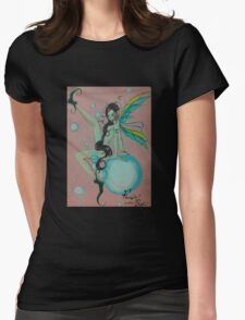 Fairies wear boots Womens Fitted T-Shirt