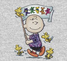 Wave that flag Charlie Brown Kids Clothes