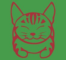 Happy Cat - Tabby (red) - Small pic by artbyakiko