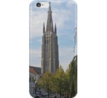 Church of Our Lady, Bruges, Belgium iPhone Case/Skin
