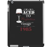 Aged To Perfection 1965 iPad Case/Skin