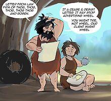 Prehistoric Litigation by Rick  London