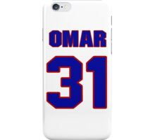 National football player Omar Bolden jersey 31 iPhone Case/Skin