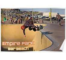 Nose-Grab Backside Air - Empire Park Skate Park  Poster