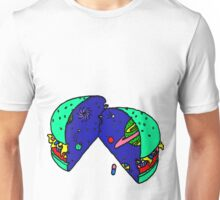 SPACE BURGER by RADIOBOY Unisex T-Shirt