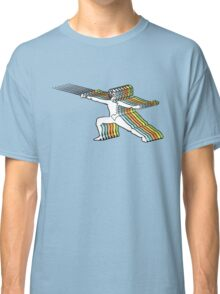 Fencer In Color Motion Classic T-Shirt