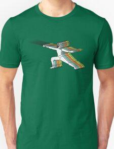 Fencer In Color Motion Unisex T-Shirt