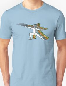 Fencer In Color Motion Unisex T-Shirt
