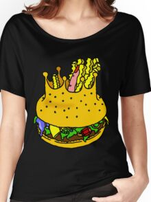 KING'S BURGER by RADIOBOY Women's Relaxed Fit T-Shirt