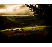 Blackwood Campsite Vista Photographic Print