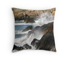 Wave Crash Throw Pillow