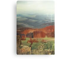 Forest Smelter Canvas Print