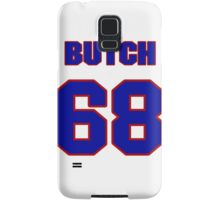 National football player Butch Lewis jersey 68 Samsung Galaxy Case/Skin