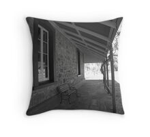 Alice Springs Telegraph Station Throw Pillow