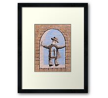 Into each other Framed Print