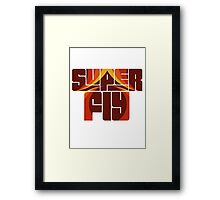 Syper fly Framed Print