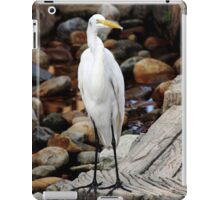 Great Egret iPad Case/Skin